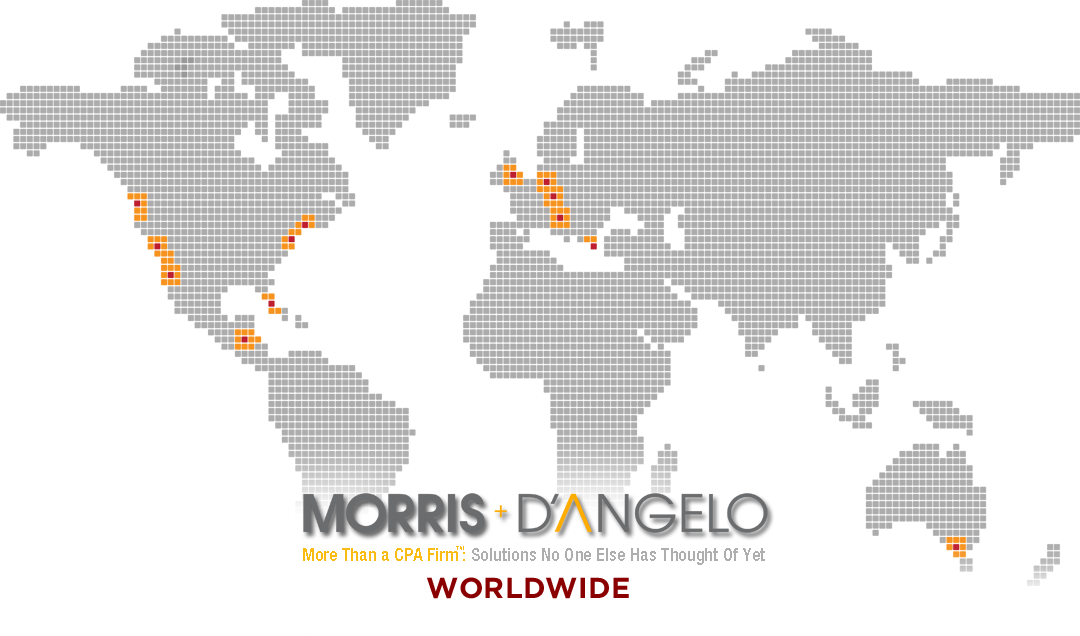 Morris and D'Angelo, Daniel Morris Worldwide, Dan Morris, Locations