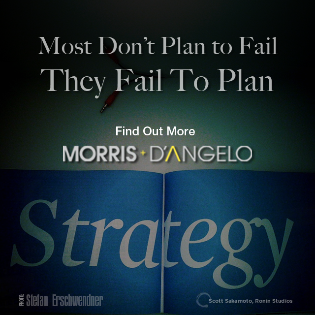 2017 Tax Strategy, Morris D'Angelo